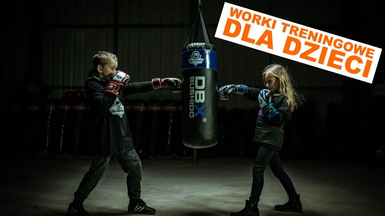 Worki treningowe dla dzieci - Profesjonalne worki bokserskie z serii DBX Junior