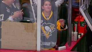 NHL: Fans Receiving Sticks