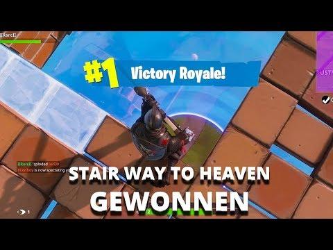 DE STAIRWAY TO HEAVEN CHALLENGE WINNEN! (FORTNITE NEDERLANDS)
