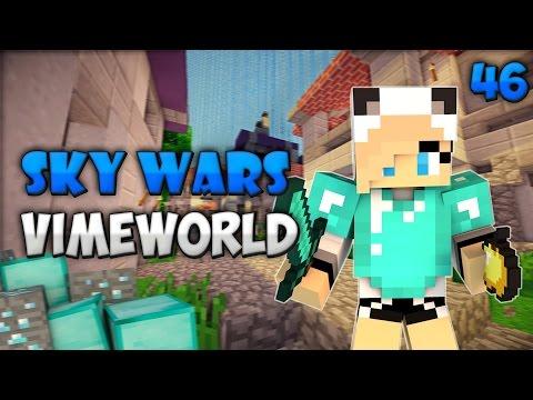 Minecraft Sky Wars #46(VimeWorld)