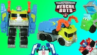 Transformers Rescue Bots Salvage Playskool Heroes Optimus Chase Bumblebee