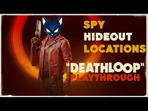 Deathloop · Playthrough ·Spy Hideout Location |