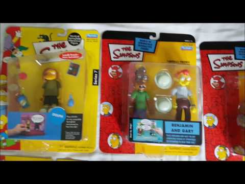 the simpsons playmates toys R us exclusive toys wos collection for sale