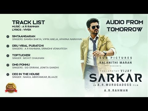 'SARKAR' Tamil Movie Songs Compilation 4 Songs || Back To Back