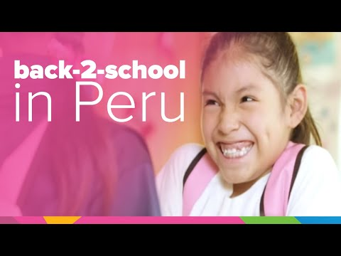 Back To School | Peru | Orphan's Promise