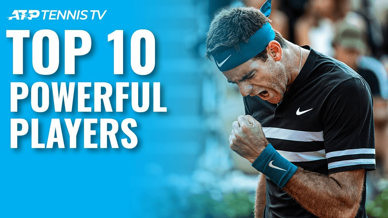 Top 10 Most Powerful Men's Tennis Players Ever 💪