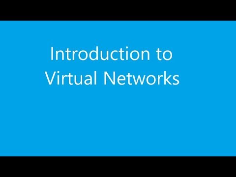 Virtual Networks Intro EDITED