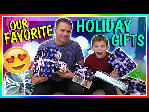 OUR FAVORITE HOLIDAY GIFTS 2017  JOIN US!  We Are The Davises