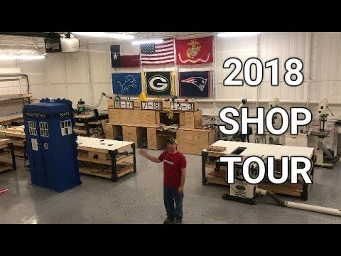 2018 Woodworking Shop Tour