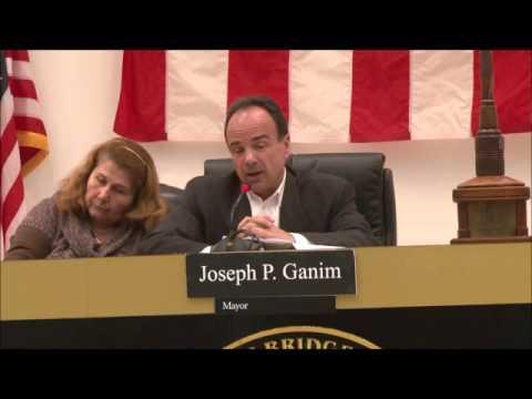 Bridgeport Mayor Joe Ganim presents 2016-2017 city budget to the Bridgeport City Council on April 4, 2016