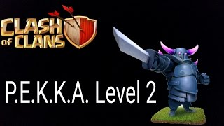 Clash of Clans Deutsch 062 Handy P.E.K.K.A Level 2