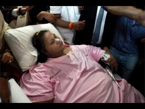 Heaviest woman' admitted to UAE hospital for treatment