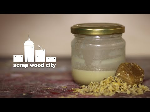 How to make a food safe wood finish out of beeswax and mineral oil