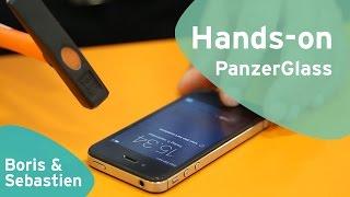 PanzerGlass screen protector hands-on (Dutch)