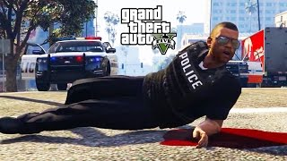 GTA V - Random Moments 32 (Worst Cops In The City!)