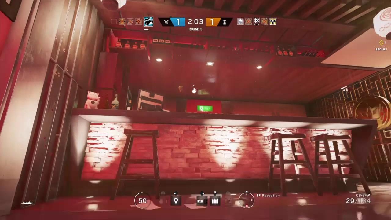 Rainbow Six Siege Having Fun With Sound Effects Youtube