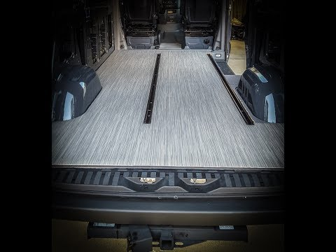 Sprinter Camper Van >> Insulated vinyl floor install on a Mercedes Sprinter ...