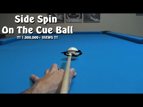 Pool Lessons: Side Spin On The Cue Ball