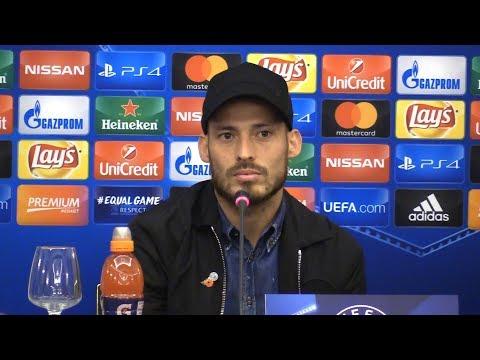 David Silva Full Pre-Match Press Conference - Napoli v Manchester City - Champions League