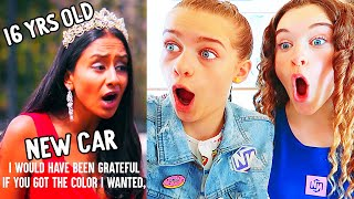 REACT TO SPOILT 16TH BIRTHDAY GIRL (Dhar Mann) w/ The Norris Nuts