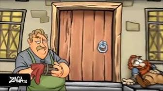 """ZAGA DE """"SHAKES & FIDGET und tausende weitere Spiele kostenlos spielen"""" Werbung 2013"""