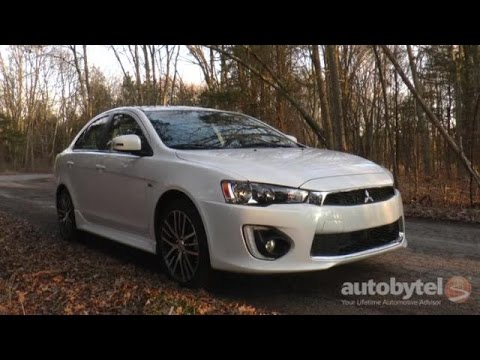 2017 Mitsubishi Lancer Sel Awd Test Drive Video Review