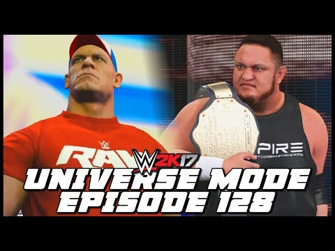 WWE 2K17 | Universe Mode - 'BATTLEGROUND PPV!' (PART 1) | #128