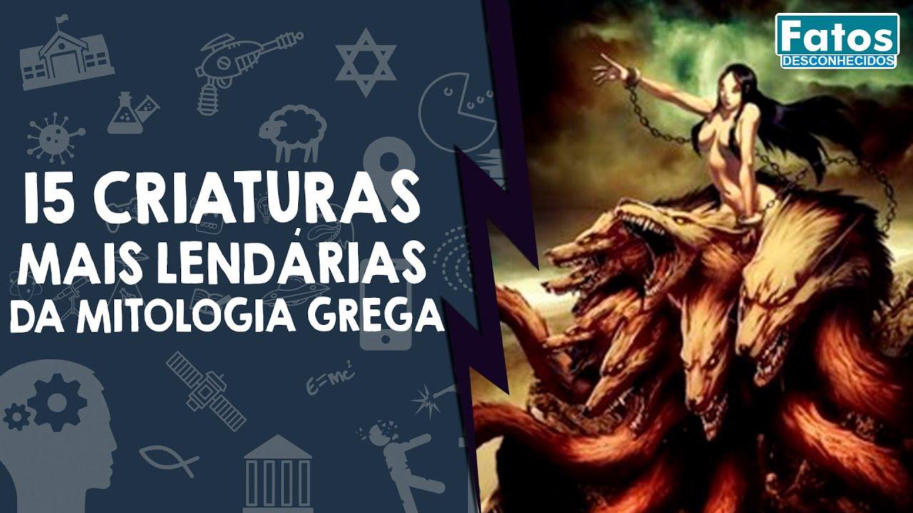 15 criaturas mais lendárias da mitologia grega