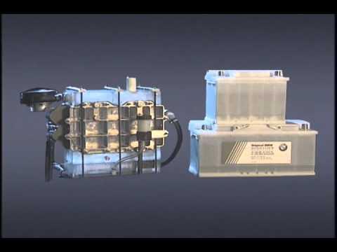 BMW Hydrogen engine test 2000