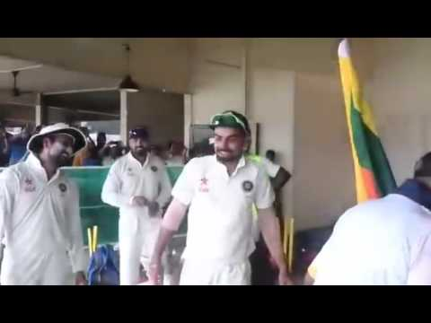 Really Funny Scenes Inside Indian Cricket    Team's Dressing Room