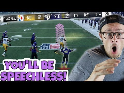 IMPOSSIBLE 100 YARD TOUCHDOWN TO COMEBACK LEFT ME SPEECHLESS!! Madden 18 Packed Out (INSANE!)