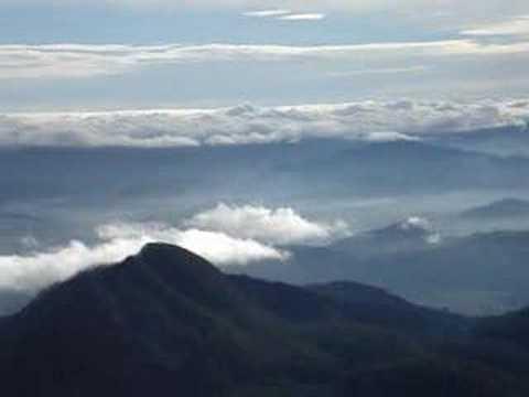 View from Top of Santa Maria Volcano