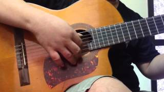 Solo guitar - Quê Hương (st Đỗ Trung Quân) - Mèo Ú guitar