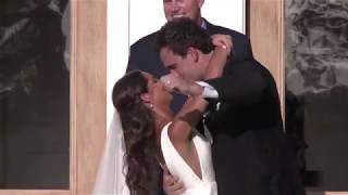Hunter & Parker Wedding kiss and exit 06 /30 /18 movie