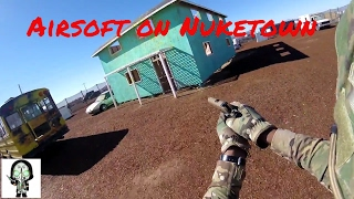 Airsoft on Nuketown