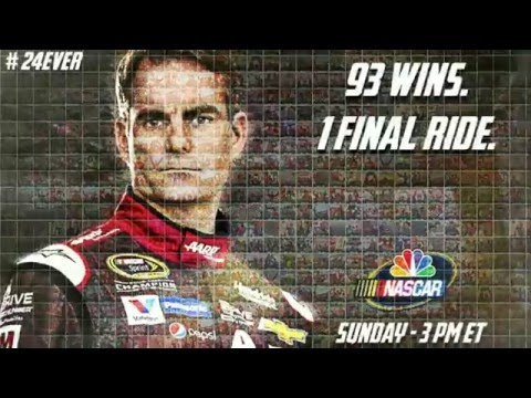Jeff Gordon Retirement Sponsor Commercial Tributes