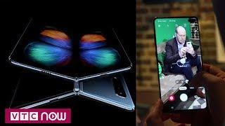 Samsung ra mắt smartphone màn hình gập đầu tiên   VTC1