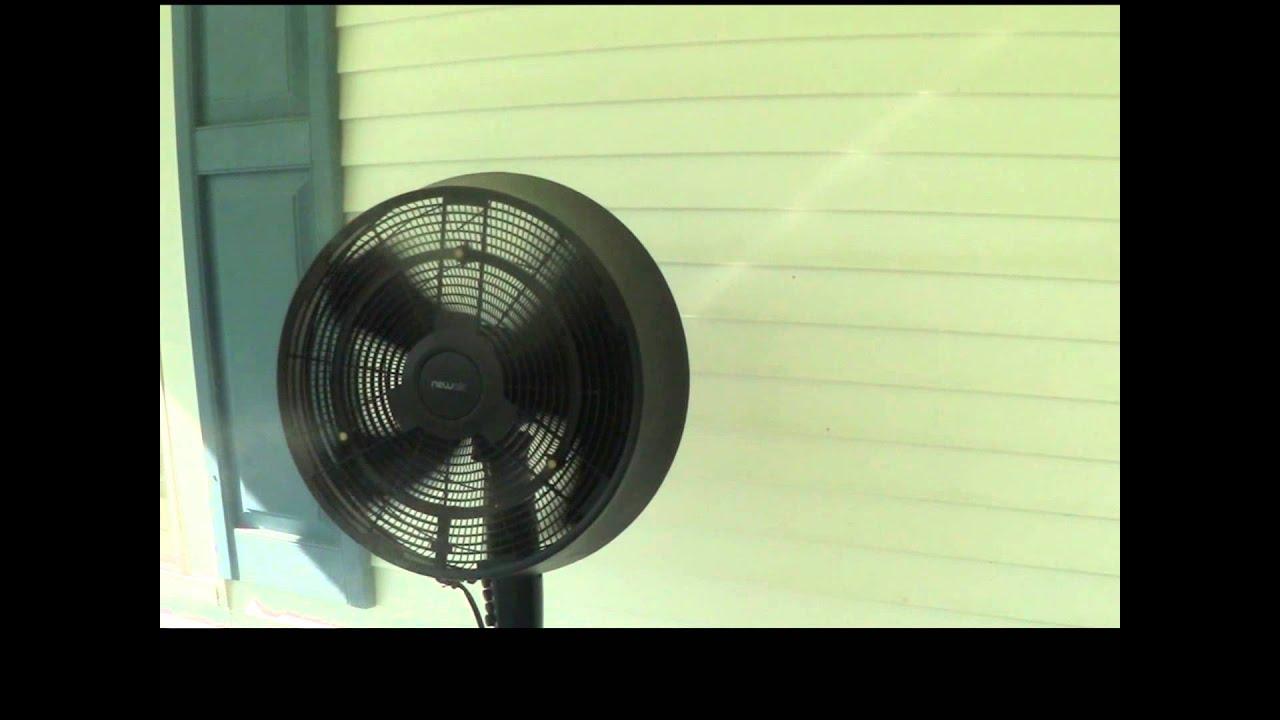 newair af520b 18 inch outdoor misting fan - Outdoor Misting Fan