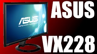Asus VX228 21.5-Inch Screen LED-Lit Monitor Unboxing + Review!