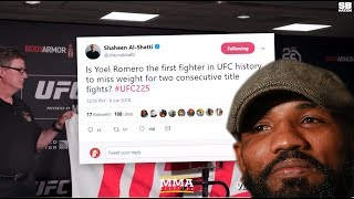 Yoel Romero Is Now The First UFC Fighter To Miss Weight For Multiple Title Fights