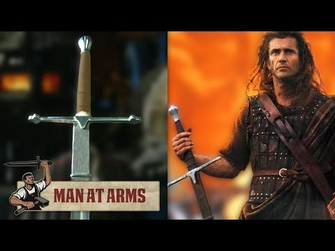 William Wallace's Claymore (Braveheart) - MAN AT ARMS