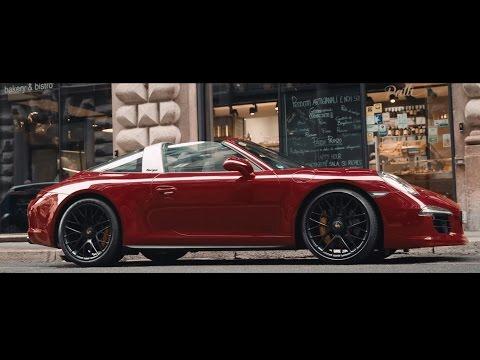 All that matters: Scott Schuman meets the new 911 Targa 4 GTS