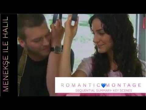 💙 Menekşe ıle Halil ❖ Romantic Montage (Sequential Key Scenes)