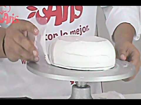 Pastel De Fiestas Patrias Con Glit Espejo Para Pastel