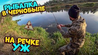 Рыбалка в Зоне Нелегалом На речке Уж 1 Часть