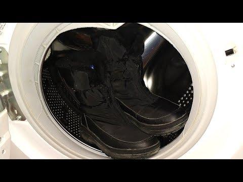 Можно ли стирать сапоги в стиральной машине