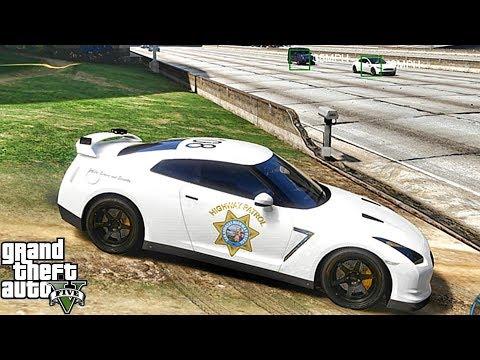 GTA 5 MODS LSPDFR 988  - GTR HIGHWAY PATROL!!! (GTA 5 REAL LIFE PC MOD)