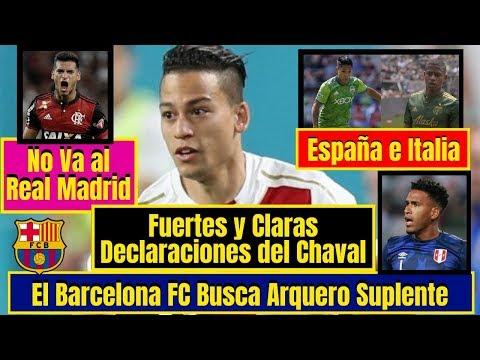 Cristian Benavente ¡DECLARÓ! 🔴 Trauco ¡BUSCA! Equipo ⚽ GALLESE en la ¡MIRA! del Barcelona FC