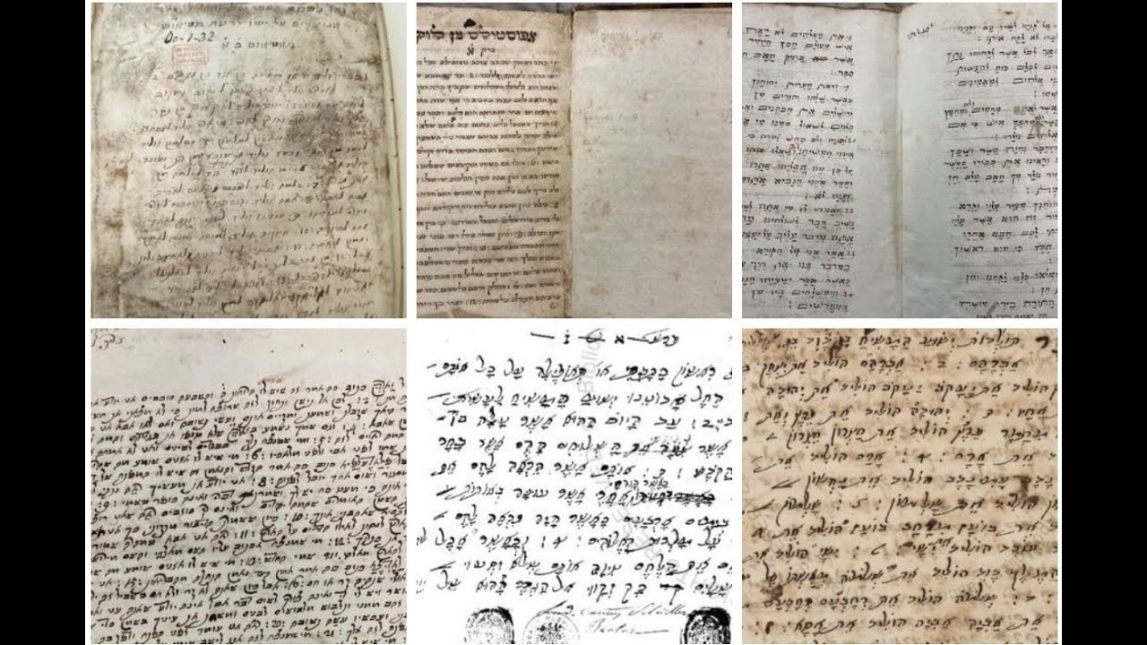 3000+ Hebrew New Testament MSS Found