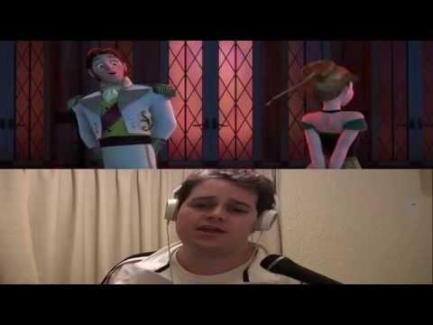 La puerta es el amor Frozen Karaoke Mario Santa Ana